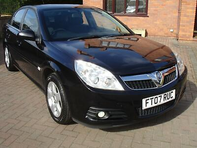 2007 07 Vauxhall Vectra 1.8i VVT Exclusiv 5dr Looks Awesome In Black