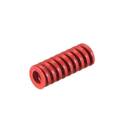 6mm OD 15mm Long Spiral Stamping Middle Load Compression Mould Die Spring 1Pcs