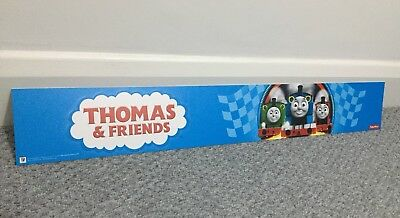Thomas The Tank Engine Advertising Display Wall Kids Room Play Fisher & Friends