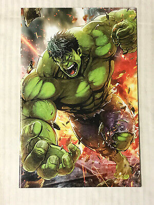 Immortal Hulk #7 - Virgin Battlelines Variant! VF/NM - Maxx Lim!