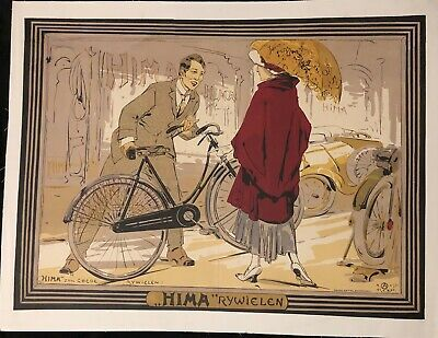 """Ost Alfred Cycles """"Hima"""" Rywielen"""