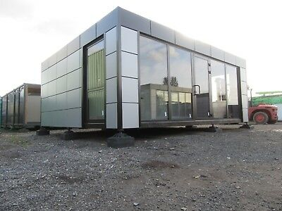 20ft x 24ft BRAND NEW 2 BAY MODULAR BUILDING SALES OFFICE SHOP HOSPITALITY UNIT