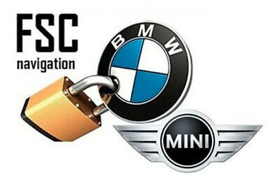 Bmw Navigation Mini Cic Nbt Map Update Fsc Code Lifetime Premium 2019