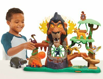 Disney's The Lion Guard - Rise of Scar Multi Feature Playset ( Lion King )
