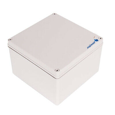 ABS IP66 Junction Box Universal Electrical Project Enclosure 7.9x7.9x5.1inch