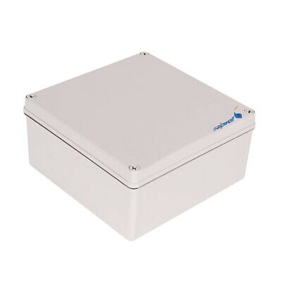 ABS IP66 Junction Box Universal Electrical Project Enclosure 7.9x7.9x3.7""