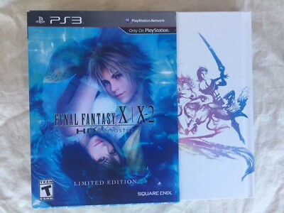 Final Fantasy X/X-2 HD Remaster (Sony PlayStation 3, 2014) - Complete