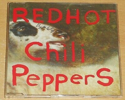 RED HOT CHILI PEPPERS : By The Way - 2002 German-pressed 1-track PROM0 CD single