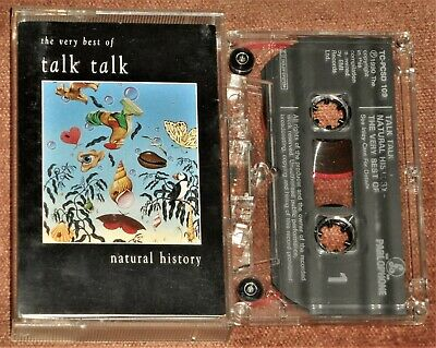 TALK TALK : Natural History - The Very Best Of : Parlophone 1990 CASSETTE TAPE