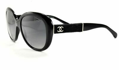 7e518f1321903 CHANEL SUNGLASSES 5256 501 s8 BLACK VELVET  GRAY Lenses -  109.99 ...