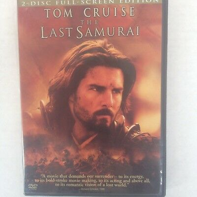 2003- TOM CRUISE- THE LAST SAMURAI - 2 Disc Full Screen Edition (DVD)