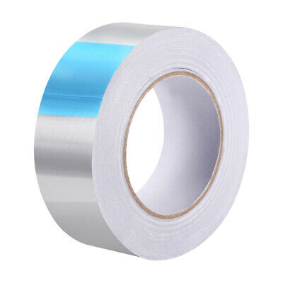 Heat Resistant High Temp Tape Aluminum Foil Adhesive Tape 45mm x 50m(164ft)