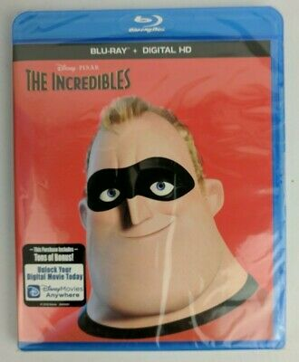 The Incredibles (Blu-ray+Digital HD) Disney Pixar Movie