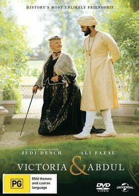 NEW Victoria and Abdul DVD Free Shipping