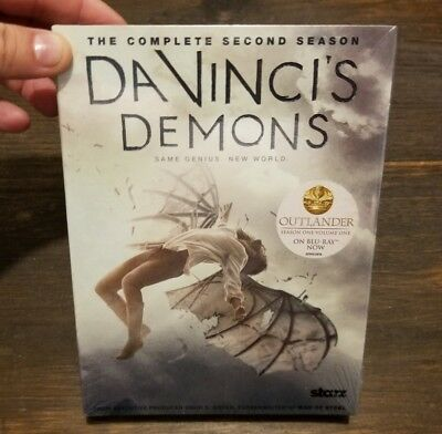 DaVinci's Demons: The Complete Second Season Two 2  (3 DVD set, 2015)  Brand NEW