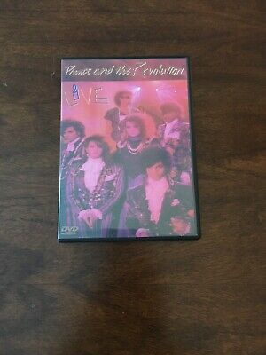 Prince Live in Concert DVD (and the revolution)