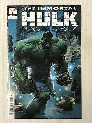 Immortal Hulk #1 - 1:25 Variant! VF/NM - Clayton Crain Cover!