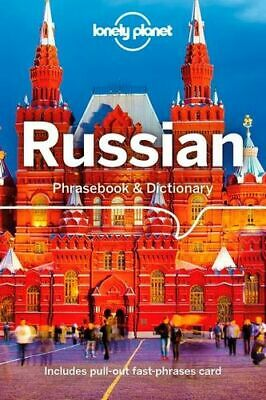 NEW Russian Phrasebook & Dictionary By Lonely Planet Paperback Free Shipping
