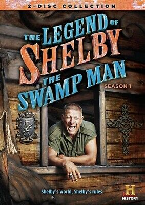 THE LEGEND OF SHELBY THE SWAMP MAN SEASON 1 New Sealed 2 DVD Set History Channel