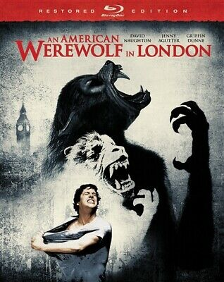AN AMERICAN WEREWOLF IN LONDON New Sealed Blu-ray Restored Edition