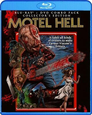 MOTEL HELL New Sealed Blu-ray + DVD Collector's Edition