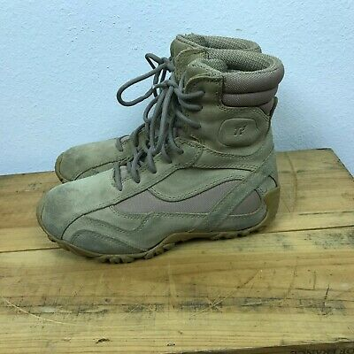 e072d44bd448 Tactical Research TR303 Kiowa Desert Tan Army Military Combat Boots Size 5R