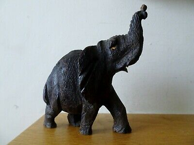 Black Forest wood carving of an Elephant