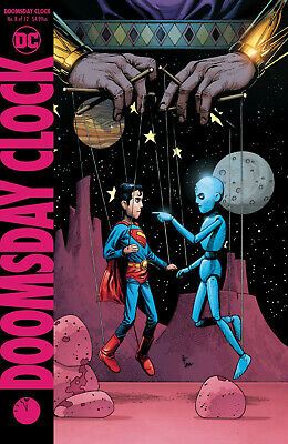 Doomsday Clock #8 Dc 2019 Frank Variant Cover Stock Image