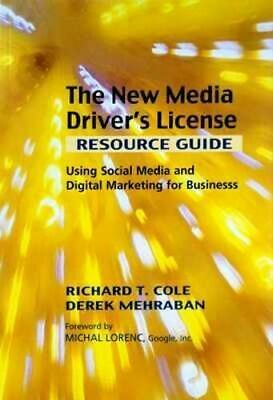 NEW New Media Driver's License By RICHARD COLE Paperback Free Shipping