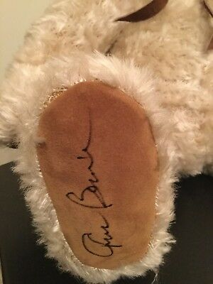AUTOGRAPHED Russ Signature Bear Limited Edition JP