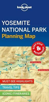 NEW Yosemite National Park Planning Map By Lonely Planet Folded Sheet Map