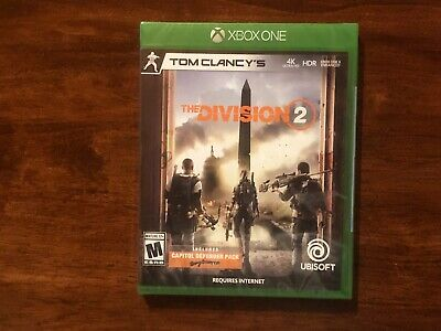 The Division 2 (Microsoft Xbox One, Xbox 1, 2019) BRAND NEW FACTORY SEALED!!!!!!