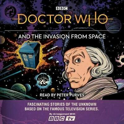 NEW Doctor Who and the Invasion from Space By BBC Audio CD Free Shipping