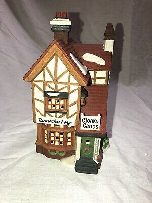 Department 56 Dickens' Village Series Bumpstead Nye Cloaks & Canes 1993 Product