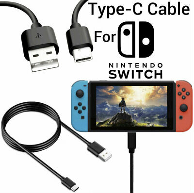 NINTENDO SWITCH USB Charging Cable 2M Long Charger Cable for Nintendo Switch