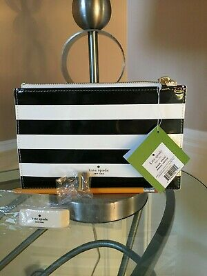NWT KATE SPADE Black Cosmetic/Pencil Pouch Great Gift for Teachers!