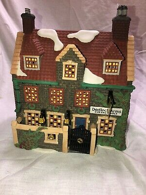 Department 56 Dickens' Village Series Dedlock Arms 1993 Production