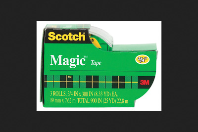 Scotch 3/4 in. W x 300 in. L Magic Tape Clear