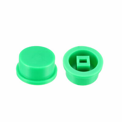 50Pcs 12.4x4.5mm plastic touch switch cover Red key caps for 8x8 lock push button touch switch