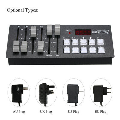 High Quality Mini DMX512 Console Stage Effects Light Controller 30 Channels E1N4
