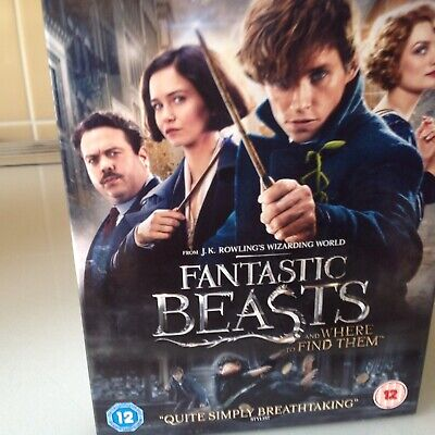 Fantastic Beasts And Where To Find Them [DVD]  New Sealed