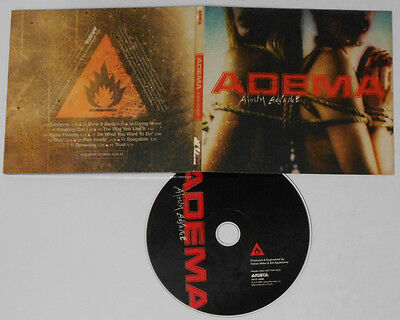 Adema - Selftitled Album Advance - U.S. digipak promo CD
