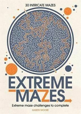 NEW Extreme Mazes By Gareth Moore Paperback Free Shipping