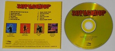 Supagroup 2003 selftitled album  - U.S. promo cd with press sheet