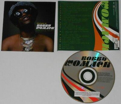 Bobby Womack  The Best Of, The Soul Years    U.S. promo label cd