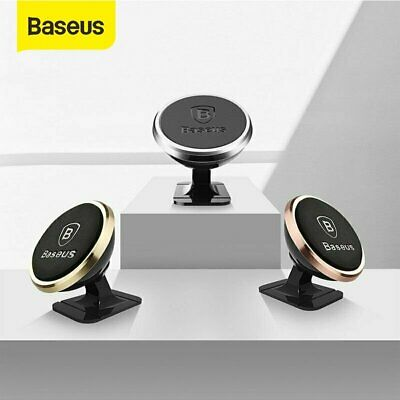 Baseus Magnetic Car Phone Holder Dashboard Mount Stand For Samsung Galaxy S10 LG
