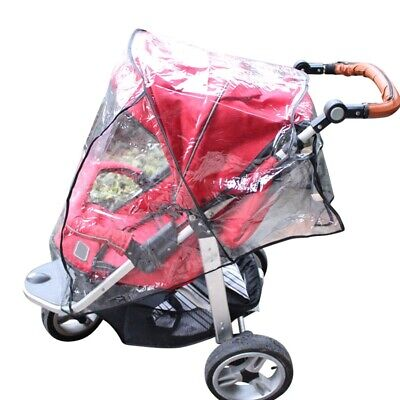 Baby Waterproof Universal Rain Cover Wind Dust Shield For Strollers Pushchairs
