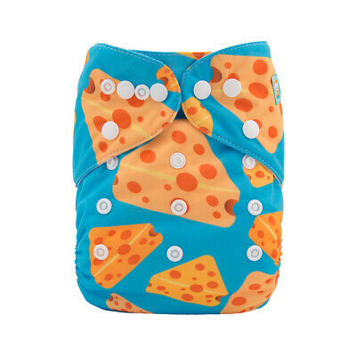 ALVA Baby Reusable Nappies One Size Washable Pocket Cloth Diapers Nappies