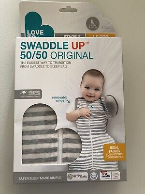 Love To Dream Swaddle Up 50/50 Original - Size L 1.0Tog Stage 2