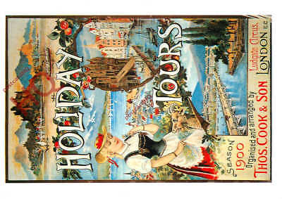 Picture Postcard::Thomas Cook Holiday Tours (Repro)